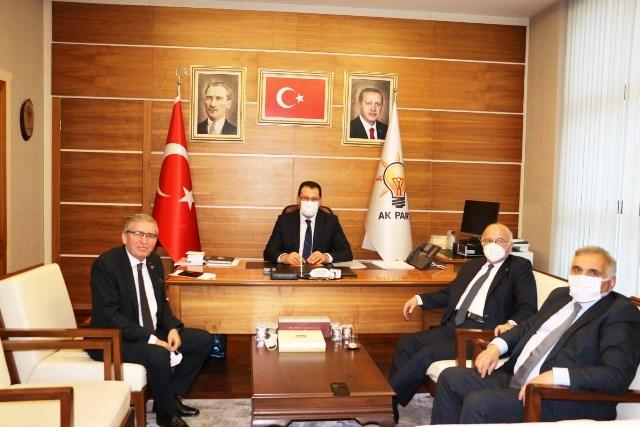 Ali İhsan Yavuz ve Yaşar Zımba dan 76 kulübe