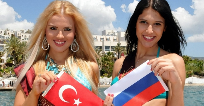 Rus turist kapma  yarışı