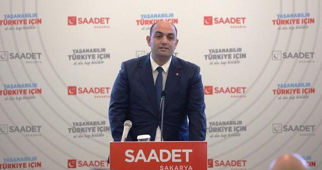 Saadet Partisi Sakarya İl Başkanı Hasan Zengin seçildi
