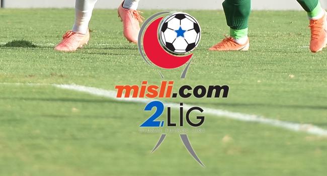 Futbol 2. Lig'de play-off eşleşmeleri netleşti