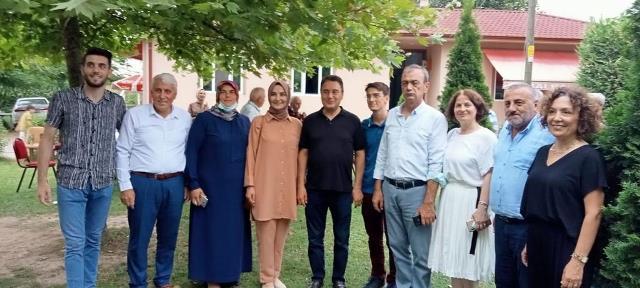 """""""Ali Babacan'dan Balballı'ya bayram ziyareti."""""""