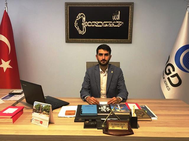 Ali Ahmet Çelik Kurban Bayramı dolayısı ile tebrik mesajı yayınlandı.