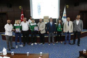 Gölbaşı Belediye Spor Kulübü Sporcusu İremsu İpek'e Başkan Şimşek'ten Tebrik
