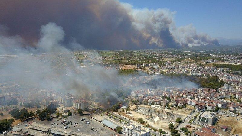 Manavgat Yanıyor: Orman Yangınlarına Karşı Acil Eylem Şimdi