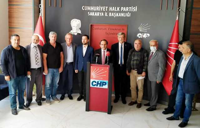 """CHP İl Başkanı Ecevit Keleş """"Yıllardır Sakarya'yı siz yönetiyorsunuz"""""""