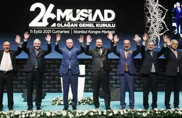 MÜSİAD'ın yeni genel başkanı Mahmut Asmalı oldu.