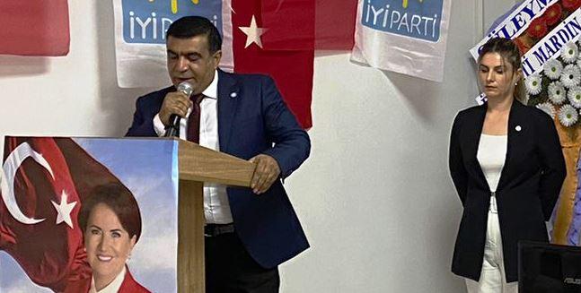 İYİ Parti Kızıltepe İlçe Başkanı Fahrettin Cevheroğlu seçildi.