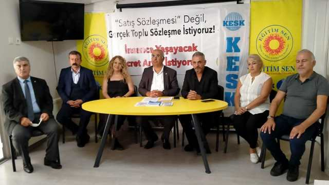 """KESKGenel SekreteriŞenol Köksal """"TİS tiyatrosu devam ediyor"""""""