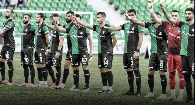 Sakaryaspor, sahasında Bodrumspor'u 1-0 mağlup etti.
